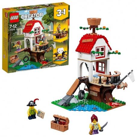 TESOROS DE LA CASA DEL ÁRBOL LEGO CREATOR 31078