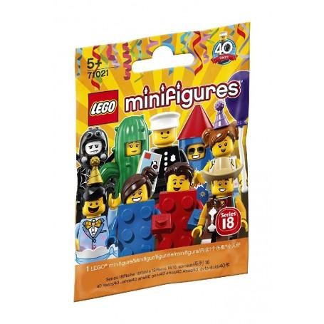LEGO MINIFIGURAS - 18ª EDICIÓN: FIESTA LEGO 71021