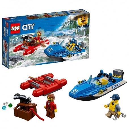 HUIDA POR AGUAS SALVAJES LEGO City Police 60176