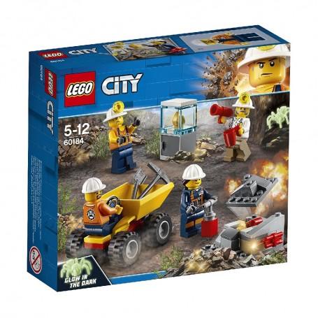 MINA: EQUIPO LEGO City Mining 60184