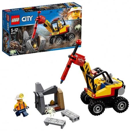 MINA: MARTILLO HIDRÁULICO LEGO City Mining 60185