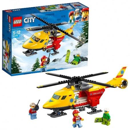 HELICÓPTERO-AMBULANCIA LEGO City Great Vehicles 60179