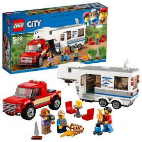 CAMIONETA CARAVANA LEGO CITY GREAT VEHICLES 60182