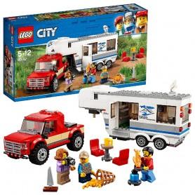 CAMIONETA CARAVANA LEGO CITY GREAT VEHICLES 60182