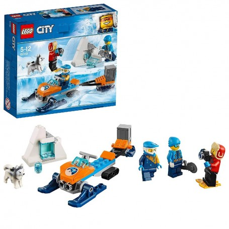 ÁRTICO: EQUIPO DE EXPLORACIÓN LEGO CITY ARCTIC EXPLORACIÓN 60191