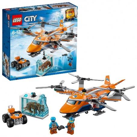 ÁRTICO: TRANSPORTE AÉREO LEGO CITY ARCTIC EXPEDITION
