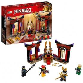 DUELO EN LA SALA DEL TRONO LEGO NINJAGO 70651
