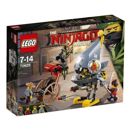 ATAQUE DE LA PIRAÑA LEGO Ninjago 70629