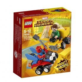 MIGHTY MICROS: SCARLET SPIDER VS. SANDMAN LEGO Seper Heroes 76089