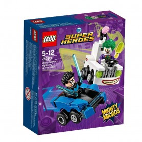 SUPER HEROES MIGHTY MICROS: NIGHTWING VS THE JOKER 76093
