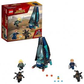 LEGO SUPER HEROES - ATAQUE DE LA NAVE DE LOS OUTRIDERS 76101