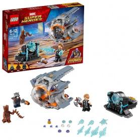 LEGO SUPER HEROES - AVENTURA TRAS EL ARMA DE THOR 76102
