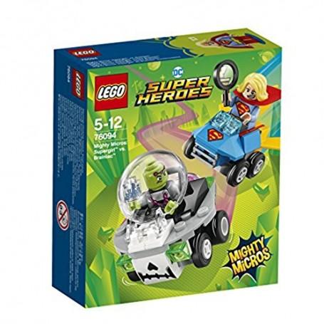 SUPER HEROES - MIGHTY MICROS SUPERGIRL VS BRAINIAC 76094