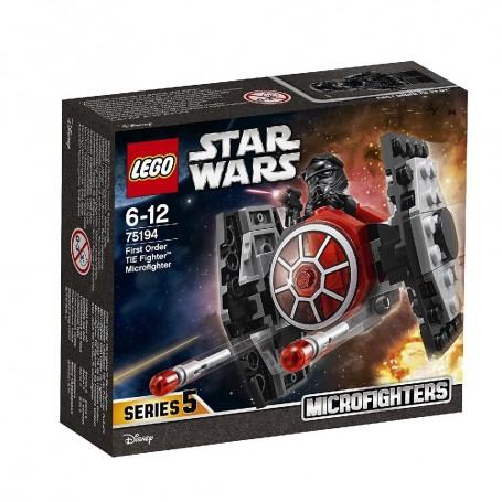 MICROFIGHTER: CAZA TIE DE LA PRIMERA ORDEN LEGO Star Wars 75194