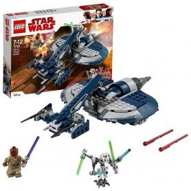 SPEEDER DE COMBATE DEL GENERAL GRIEVOUS LEGO Star Wars 75199