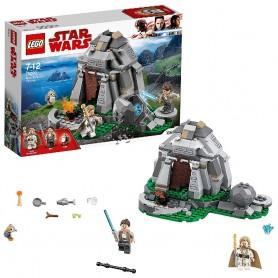 ENTRENAMIENTO EN AHCH-TO ISLAND LEGO STAR WARS 75200