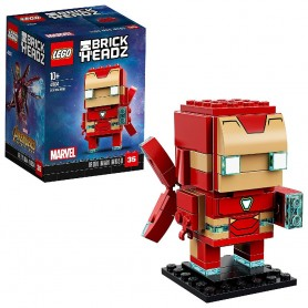 IRON MAN MK50 LEGO BRICKHEADZ 41604