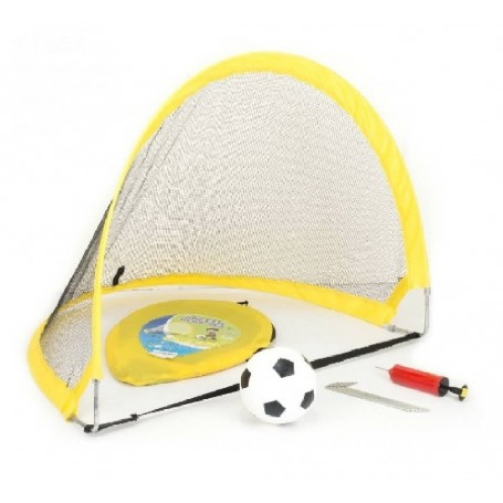 PORTERIA POP-UP FUTBOL NYLON 80X60X60 CM