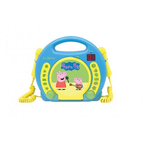 PEPPA PIG - LECTOR CD CON 2 MICROFONOS, INFANTIL