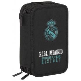 PLUMIER TRIPLE REAL MADRID 2018 NEGRO