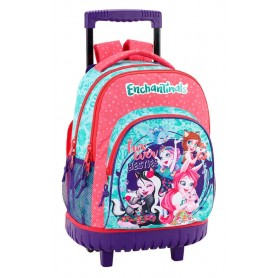 MOCHILA C/ RUEDAS COMPACT ENCHANTIMALS