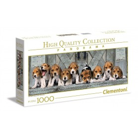 PUZZLE BEAGLES 1000 PZAS PANORAMICO
