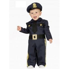 DISFRAZ POLICIA BABY 12- 24 MESES 1-2 AÑOS