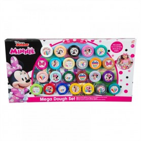 MEGA SET PLASTILINA 24 PZAS MINNIE MOUSE