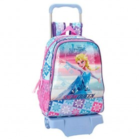 MOCHILA CARRO TROLLEY FROZEN ICE MAGIC DISNEY 42CM