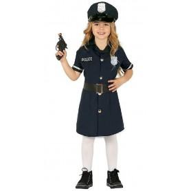 DISFRAZ POLICIA NIÑA 7-9 AÑOS