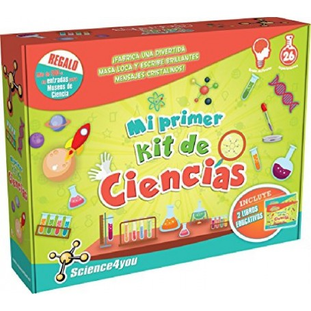 MI PRIMER KIT DE CIENCIAS - SCIENCE4YOU