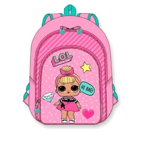 MOCHILA LOL SURPRISE 30CM