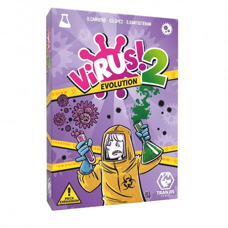JUEGO VIRUS 2 EVOLUTION (PACK EXPANSION)