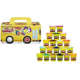 PLAYDOH PACK SUPER COLOR 20 BOTES
