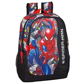 MOCHILA SPIDERMAN SUPER HERO MARVEL ADAPTABLE 44CM