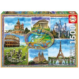 PUZZLE 1500 SIETE MARAVILLAS DE EUROPA