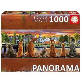 PUZZLE 1000 PERROS EN EMBARCADERO PANORAMA