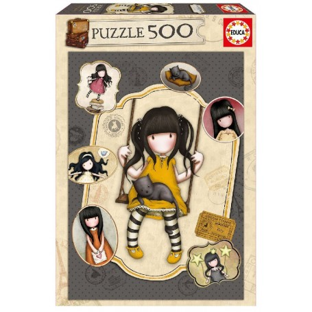 PUZZLE 500 RUBY GORJUSS