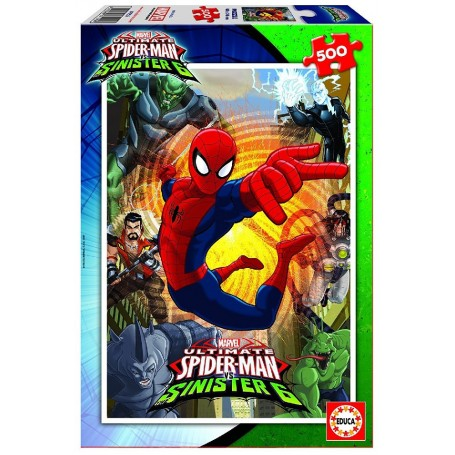 PUZZLE 500 SPIDER-MAN VS SINISTER 6