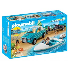 PICK UP CON LANCHA PLAYMOBIL 6864