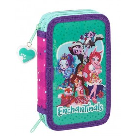ENCHANTIMALS ESTUCHE ESCOLAR