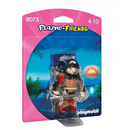 GUERRERA PLAYMOBIL PLAYMOFRIENDS 9073