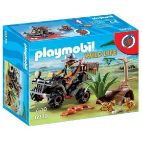 EXPLORADOR CON QUAD PLAYMOBIL 6939