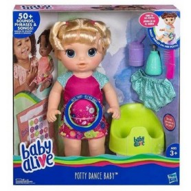 BABY ALIVE APRENDO A HACER PIPI RUBIA