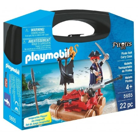 MALETÍN PIRATA PLAYMOBIL 5655