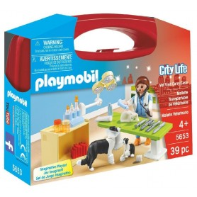 MALETÍN VETERINARIO PLAYMOBIL 5653