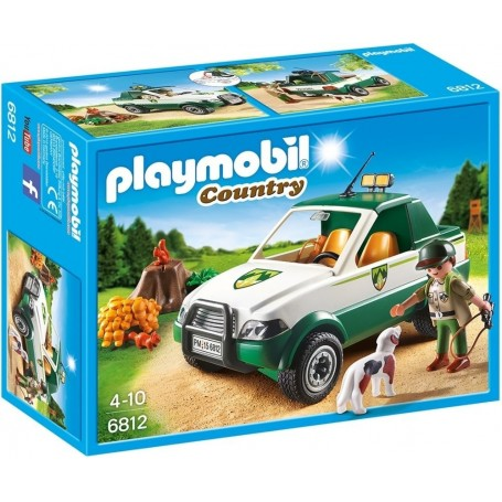 GUARDABOSQUE CON PICK UP PLAYMOBIL 6812