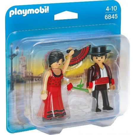 DUO PACK BAILARINES FLAMENCOS PLAYMOBIL 6845