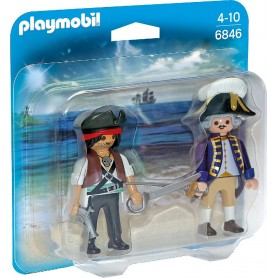 DUO PACK PIRATA Y SOLDADO PLAYMOBIL 6846