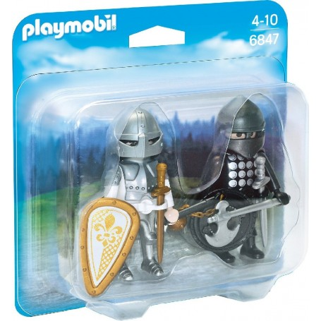 DUO PACK CABALLEROS PLAYMOBIL 6847